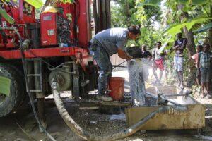 agua en Marigot Haití