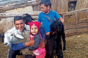 una familia romana en Romania