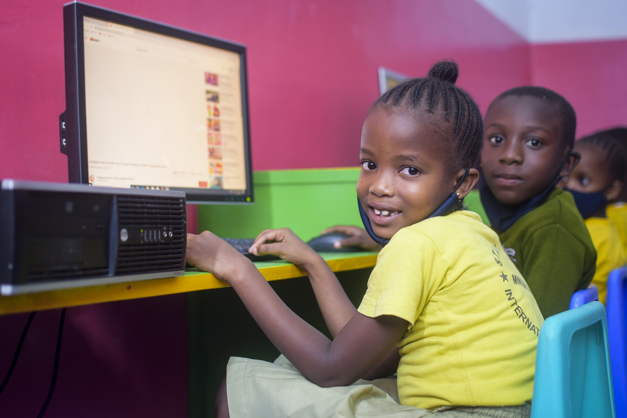 Clases de computación en Kenia