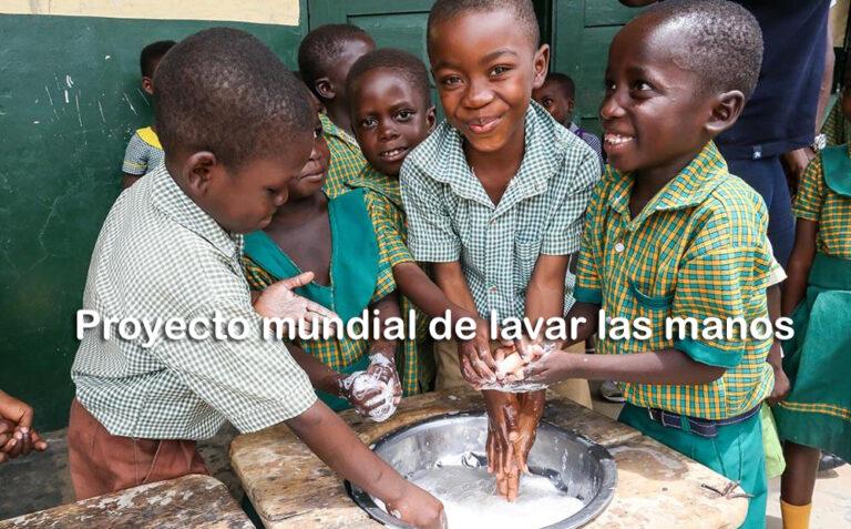 Proyecto mundial de lavar las manos