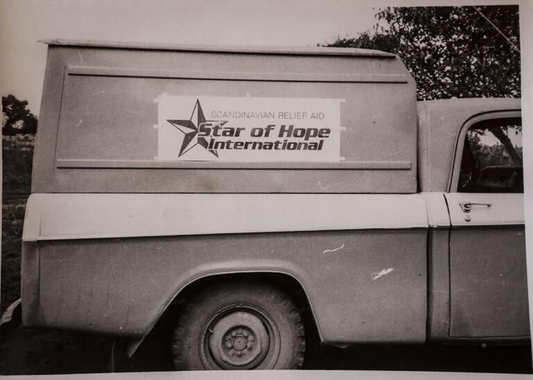 La furgoneta principal 1977 en Chaco, Argentina
