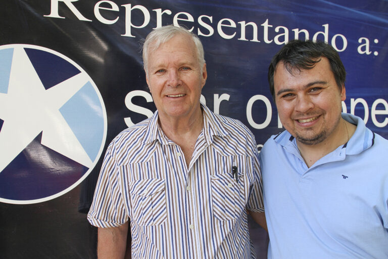 Kenth y David Johansson, Argentina