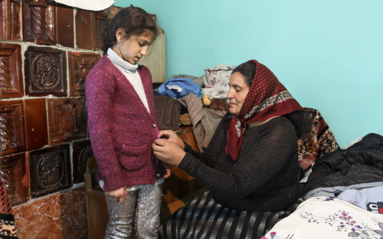 Una familia en Romania
