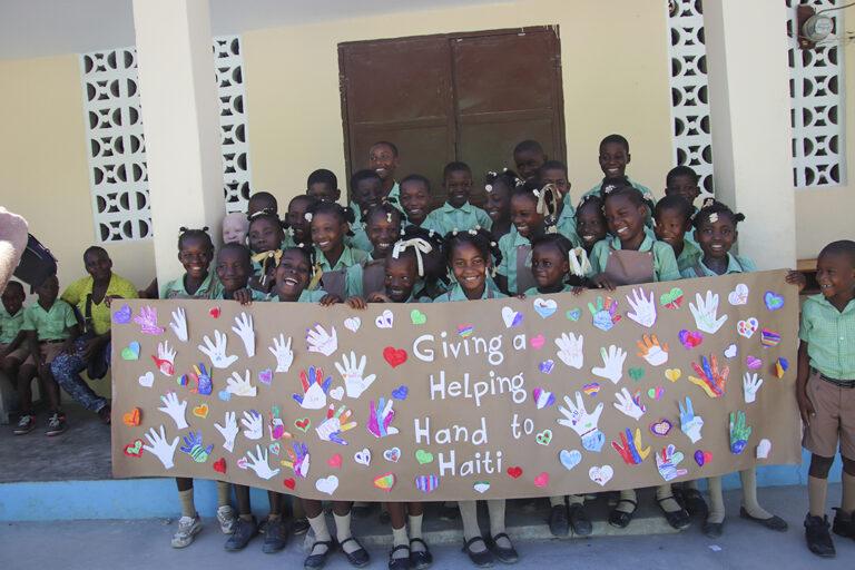 Colegio en Marigo, Haití