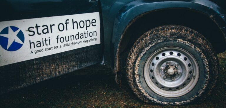 Star of Hope Haiti Foundation camion