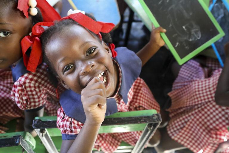 preescolar en Haití