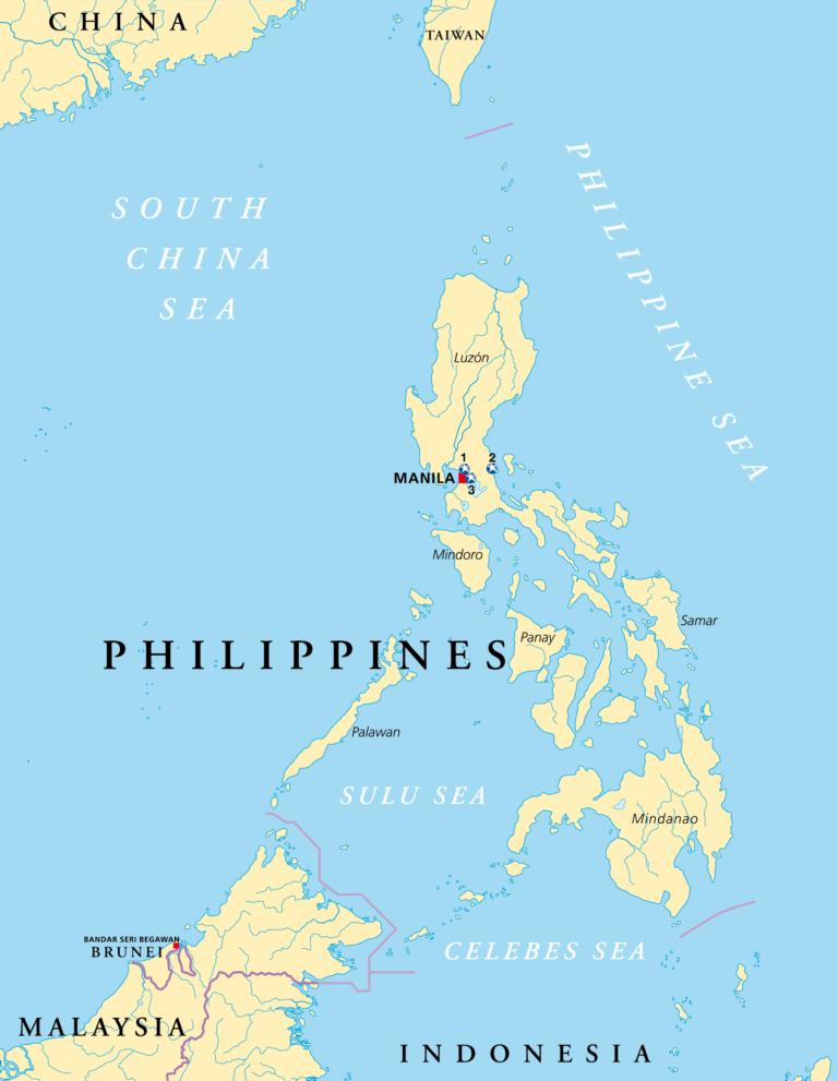 El mapa de nuestros proyectos en Filipinas